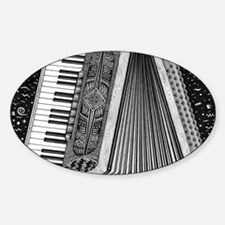 Accordion Sticker (Oval)