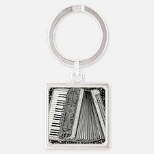 Accordion Square Keychain