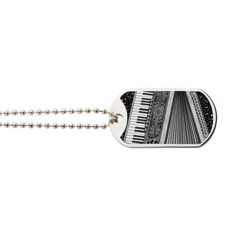 Accordion Dog Tags