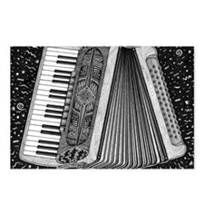 Accordion Postcards (Package of 8)