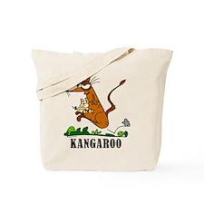 Cartoon Kangaroo by Lorenzo Tote Bag