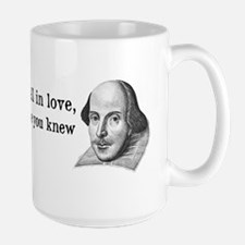 Shakespeare on Love (Hamlet) Mug