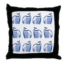 Guinea fowl Throw Pillow