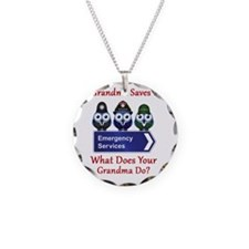 What Does Your Grandma Do? Necklace