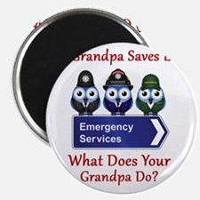 What Does Your Grandpa Do? Magnet