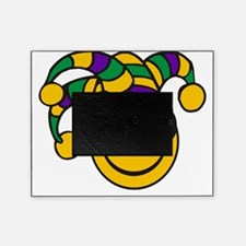 Mardi Gras Smiley Picture Frame