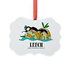 Cartoon Leech by Lorenzo Ornament