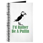 Rather Be A Puffin Journal