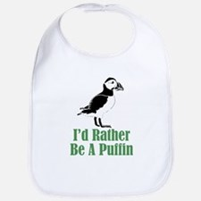 Rather Be A Puffin Bib