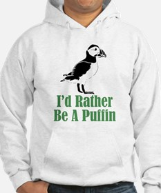 Rather Be A Puffin Hoodie