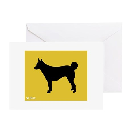 Lundehund iPet Greeting Cards (Pk of 10)