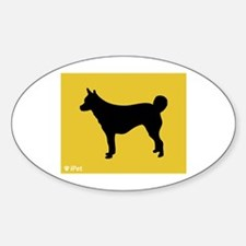 Lundehund iPet Oval Decal