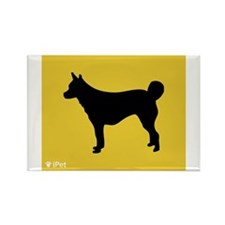 Lundehund iPet Rectangle Magnet (100 pack)