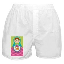 Adorable Russian Doll iPhone case Boxer Shorts