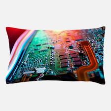Laptop circuit board Pillow Case