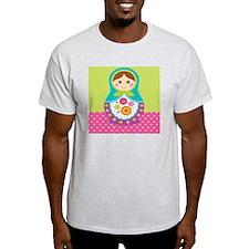Square Matryoshka T-Shirt