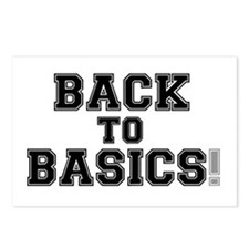 BACK TO BASICS! Postcards (Package of 8)