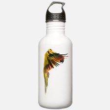 Sun Conure in flight S Water Bottle