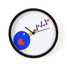 Cute Love Bird Wall Clock