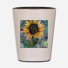 Sunflower Sunday Art Shot Glass
