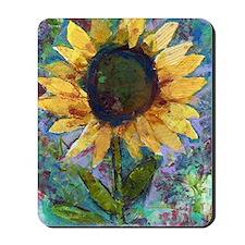 Sunflower Sunday Art Mousepad