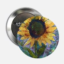 "Sunflower Sunday Art 2.25"" Button"