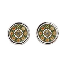 Celtic Wheel of the Year Cufflinks