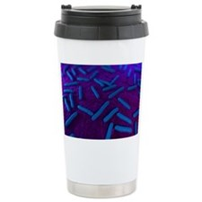 E coli bacteria, artwor Travel Mug
