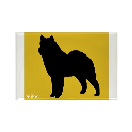 Lapphund iPet Rectangle Magnet (100 pack)