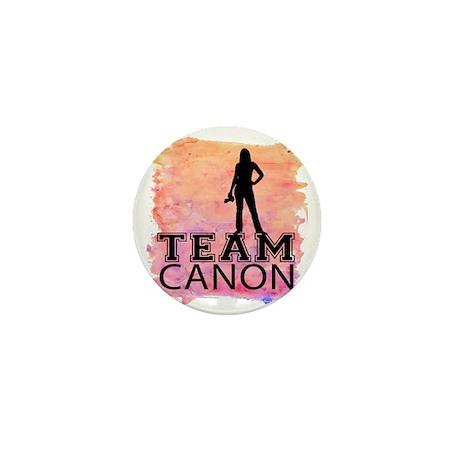 Team Canon Watercolor Mini Button