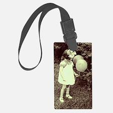 balloon girl Luggage Tag