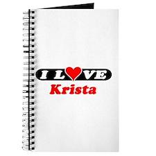 I Love Krista Journal