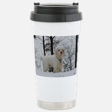 Clumber spaniel wall ca Stainless Steel Travel Mug