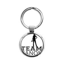 Team Canon Basic Round Keychain