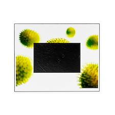 Flu virus, artwork Picture Frame