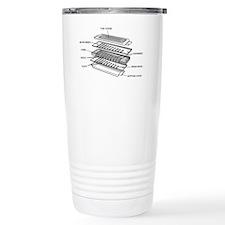 Harmonica Exploded Travel Mug