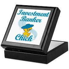 Investment Banker Chick #3 Keepsake Box