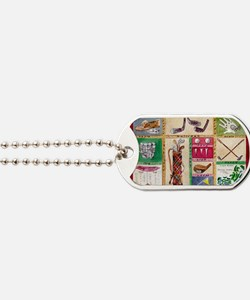 Golf Collage Dog Tags