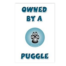 Owned by a Puggle Postcards (Package of 8)