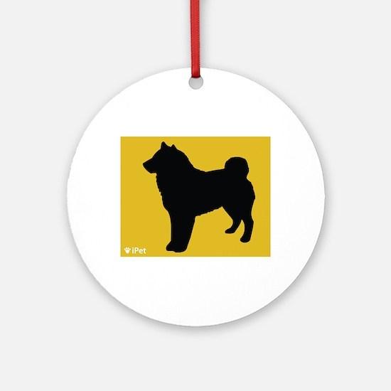 Sheepdog iPet Ornament (Round)