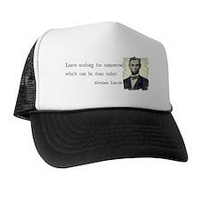 Quotable Abraham Lincoln  Trucker Hat
