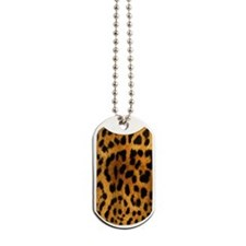 Leopard phone case Dog Tags