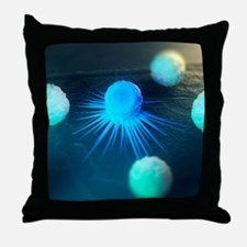 Immune response to cancer, artwork Throw Pillow