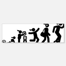 Moonwalking-AAI1 Bumper Bumper Sticker