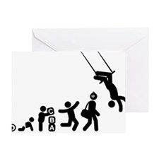 Trapeze-AAG1 Greeting Card