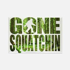 Gone Squatchin *Special Deep Fore Rectangle Magnet