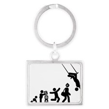 Trapeze-AAG1 Landscape Keychain
