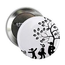 "Tree-Hugger-AAI1 2.25"" Button"