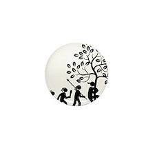 Tree-Hugger-AAH1 Mini Button