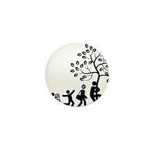 Tree-Hugger-AAG1 Mini Button